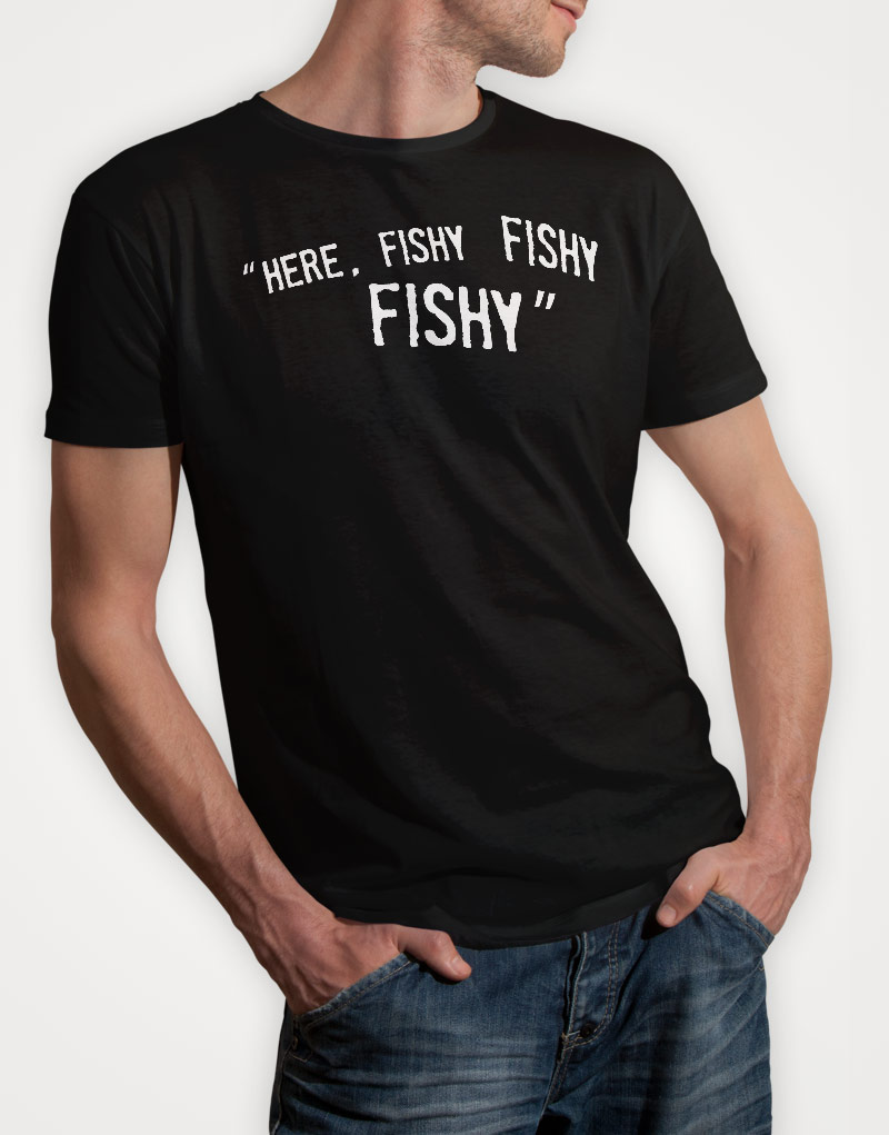 here-fishy-fishy-fishy-mens-black-tshirt