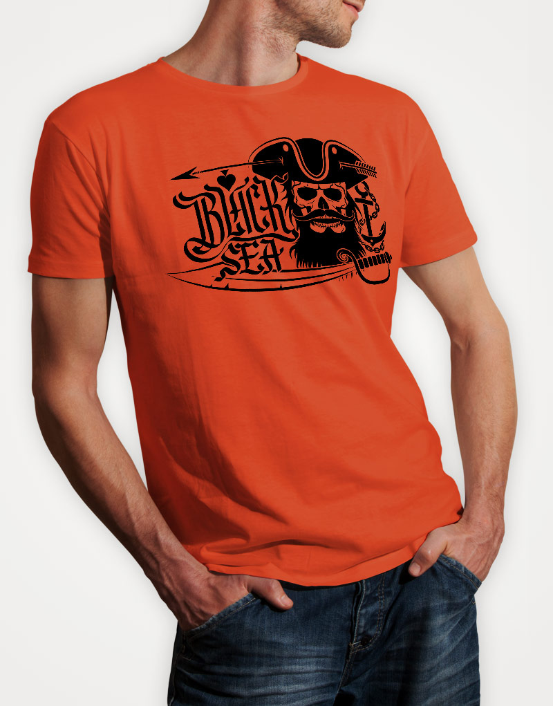 black-sea-mens-orange-tshirt