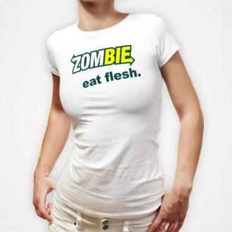 zombie-eat-flesh-ladies-white-tshirt